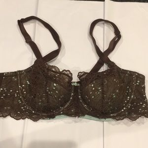 Cacique Demi lace underwire bra